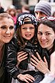 celine dion greets her fans with son rene charles angelil 26