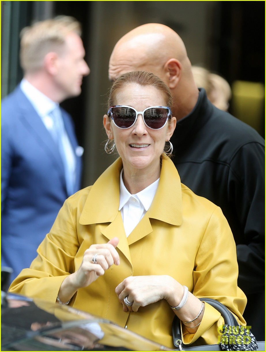 celine dion sunglasses 89hv  Celine Dion Arrives in Paris for Summer European Tour: Photo 3688591  Celine  Dion, Rene-Charles Angelil Pictures  Just Jared