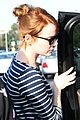 emma stone dyes hair red 22
