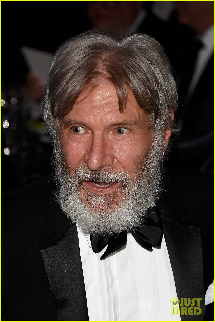 Harrison Ford Sports Bushy Beard at John Williams Tribute: Photo ...