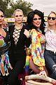 erin sara foster ride a bus in la pride parade 16
