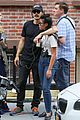 james franco gets cozy with a female friend after lunch 29