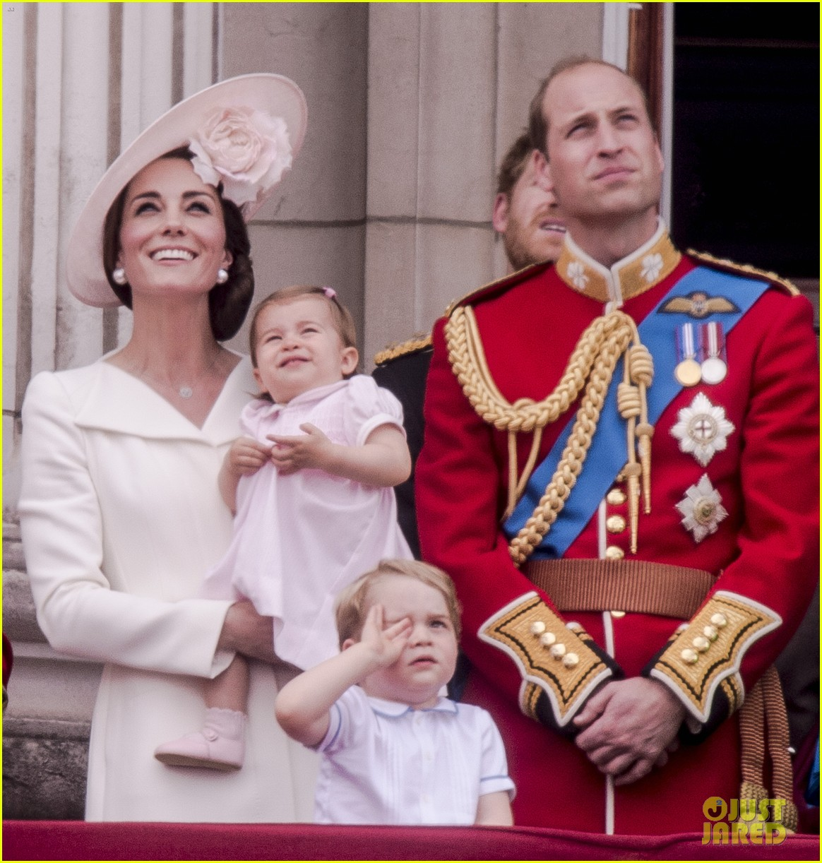 Full Sized Photo of princess charlotte prince george join will kate ...
