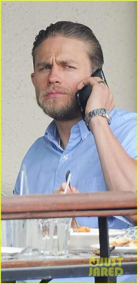 charlie hunnam hits the gym then cleans up for lunch 20