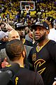 lebron james cries gets emotional after nba finals win 11