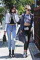 kendall jenner gigi hadid out sunny west hollywood 18