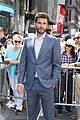 liam hemsworth rings nasdaq bell nyc 14