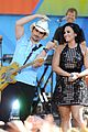 demi lovato without a fight brad paisley gma 03