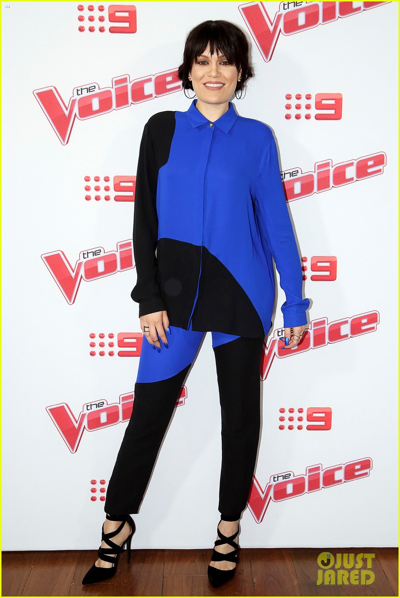 benji joel madden kick off the voice australia with jessie j 13