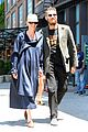 tilda swinton & boyfriend sandro kopp step out in nyc 06
