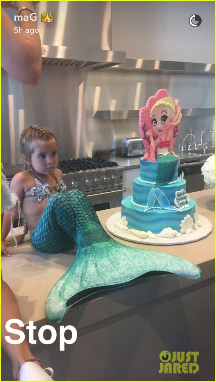 ... Disick Celebrate Birthdays With Adorable Princess Mermaid Party