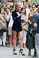 lily aldridge hits up radiohead concert with sister ruby 24