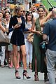 lily aldridge hits up radiohead concert with sister ruby 25