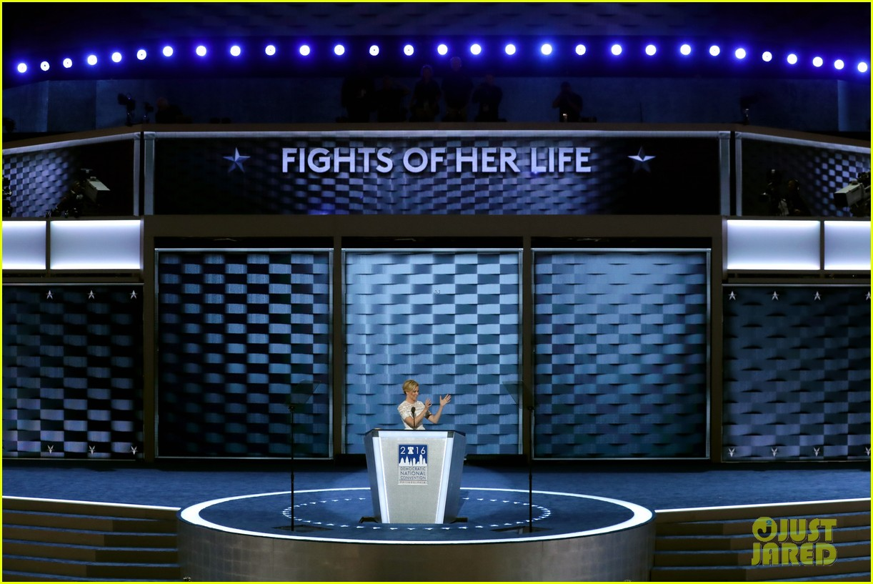 ... Donald Trump, Compares Him to Effie Trinket During DNC Speech (Video