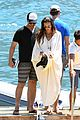 gerard butler girlfriend morgan brown romantic boat ride in italy 30