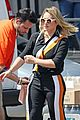 hilary duff films younger in same outfit as cheryl 04