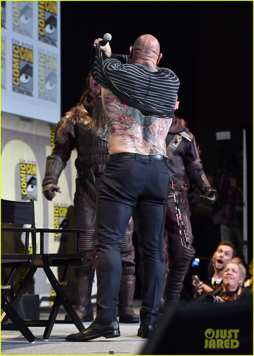 Watch Guardians Of The Galaxy Comic Con Footage 73