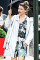 hilary duff sutton foster look chic while filming younger 21