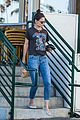 katie holmes wears a metallica shirt for casual friday outing 21