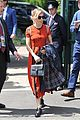 sienna miller orange beauty wimbledon 14