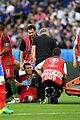 cristiano ronaldo injures knee euro game 11