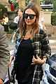 jessica alba plaid nyc errands 11
