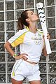 alessandra ambrosio and adriana lima carry the olympic torch 14