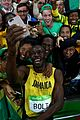 usain bolt wins third straight gold medal at rio olympics 13
