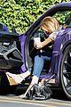 caitlyn jenner purple porsche woodland hills 02