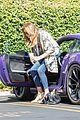 caitlyn jenner purple porsche woodland hills 19