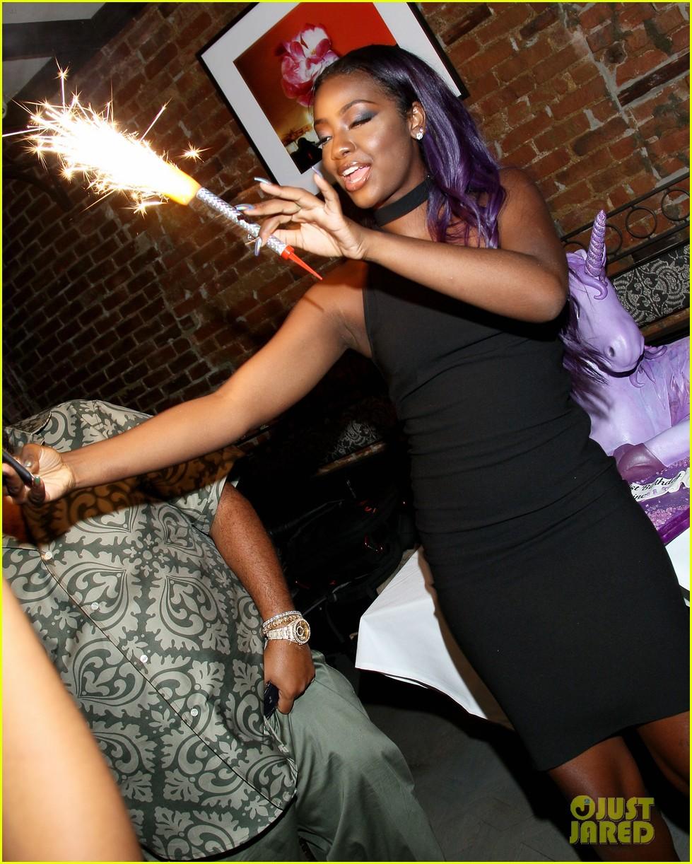 Hailey Baldwin Celebrates Justine Skye's 21st Birthday In