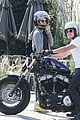 josh hutcherson girlfriend claudia traisac ride around on his motorcycle505mytext