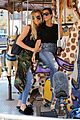 kourtney khloe kardashian ride a merry go round together 28