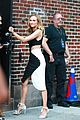 diane kruger promotes disorder on the late show with stephen colbert 10