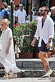 kylie minogue joshua sasse flaunt their love on italian vacation 21