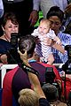 michael phelps kisses baby boomer after big olympics wins 05