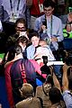 michael phelps kisses baby boomer after big olympics wins 14