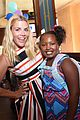 busy philipps hosts baby2baby back to school event with daughter birdie 13