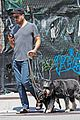 zachary quinto and miles mcmillan take their dogs for a walk in nyc 03