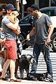zachary quinto and miles mcmillan take their dogs for a walk in nyc 14