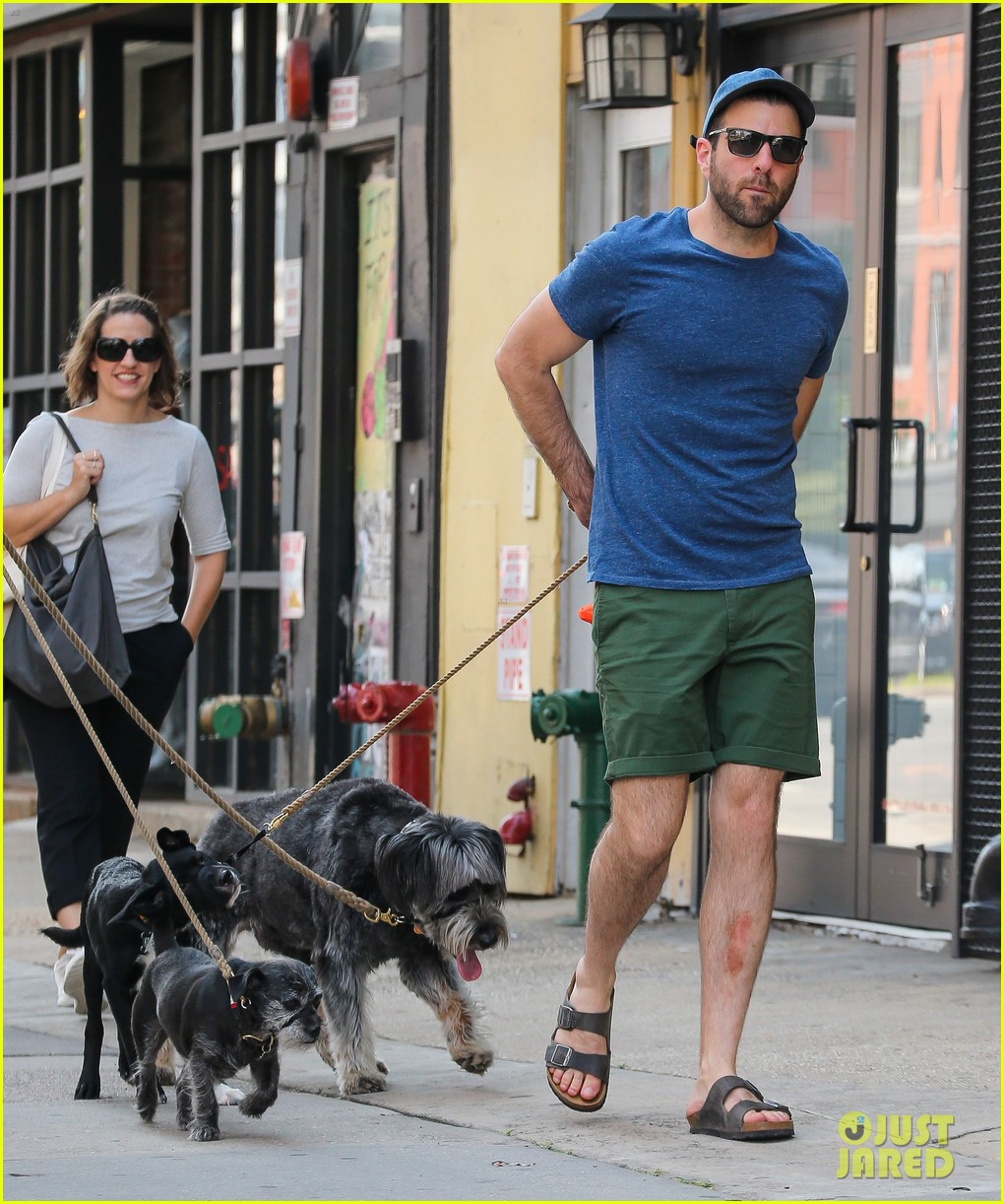 zachary quinto walks dogs nyc 053728751