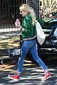 emma roberts keeps busy while filming scream queens 10