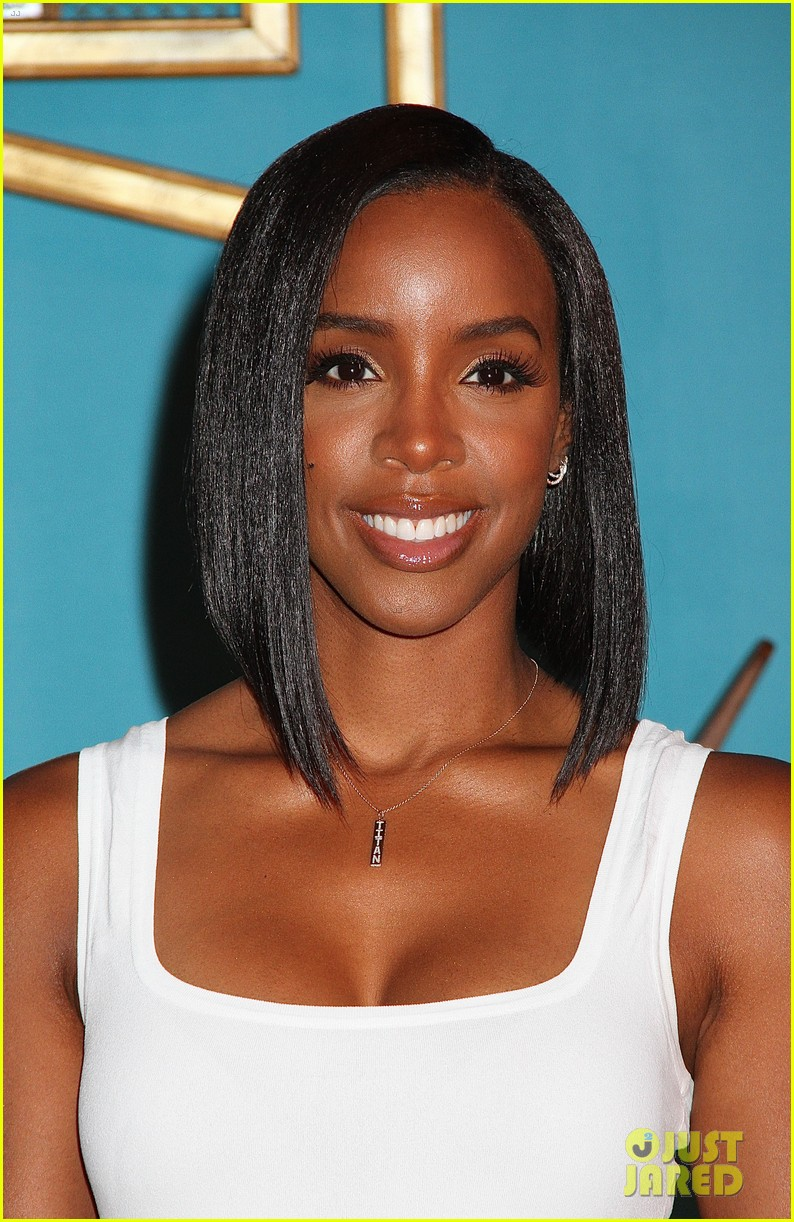 Full Sized Photo Of Kelly Rowland Rocks New Bob Haircut At Bens Beginners Cooking Contest Launch 16 Photo 3740913 Just Jared