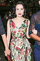 dita von teese watches adele perform live in concert 10