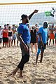 team usas olympic basketball team hang out on the beach in rio 42