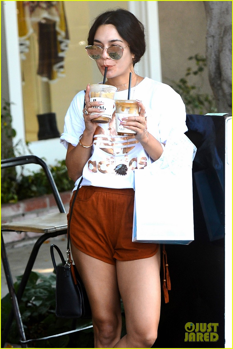 vanessa hudgens fuels up on coffee in weho00608