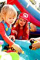 christina aguilera celebrates daughter birthday super mario bros 04