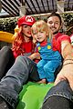 christina aguilera celebrates daughter birthday super mario bros 05