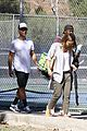 jessica alba steps out for brunch and tennis with her family 02