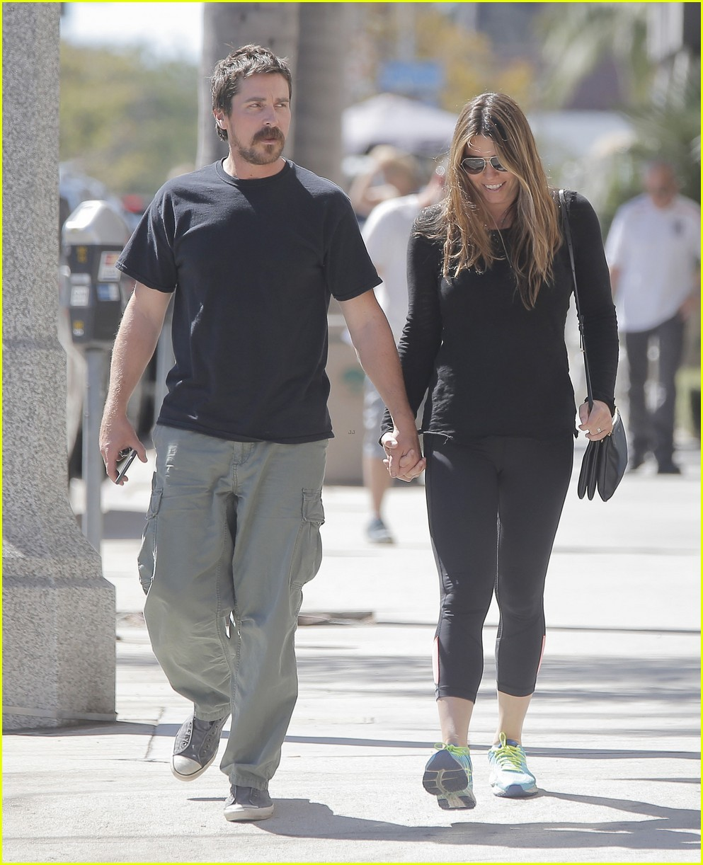 christian bale sibi blazic step out for lunch 033770803